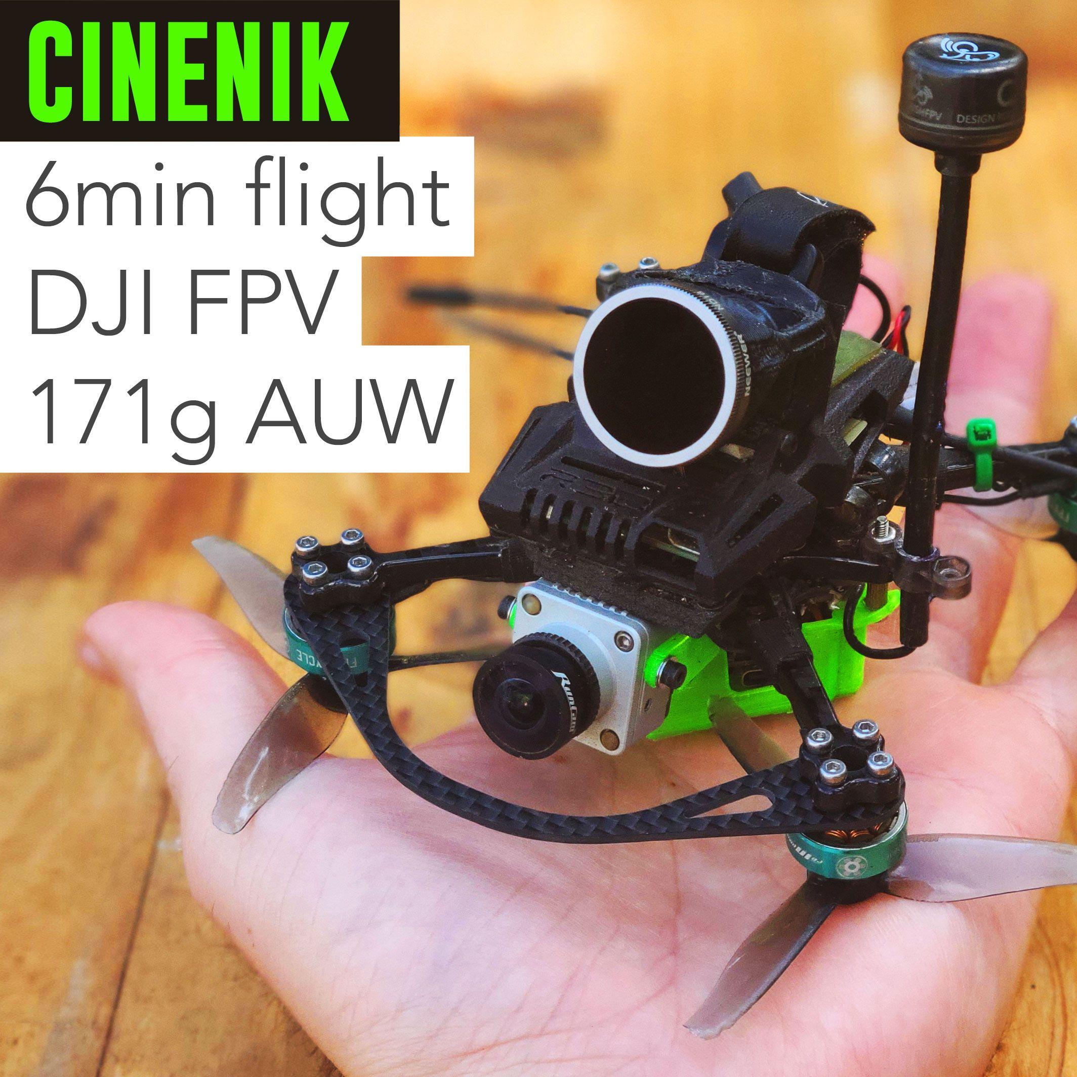 HOMFPV Winguisuit S: Mini Cinewhoop potente e piccolo per