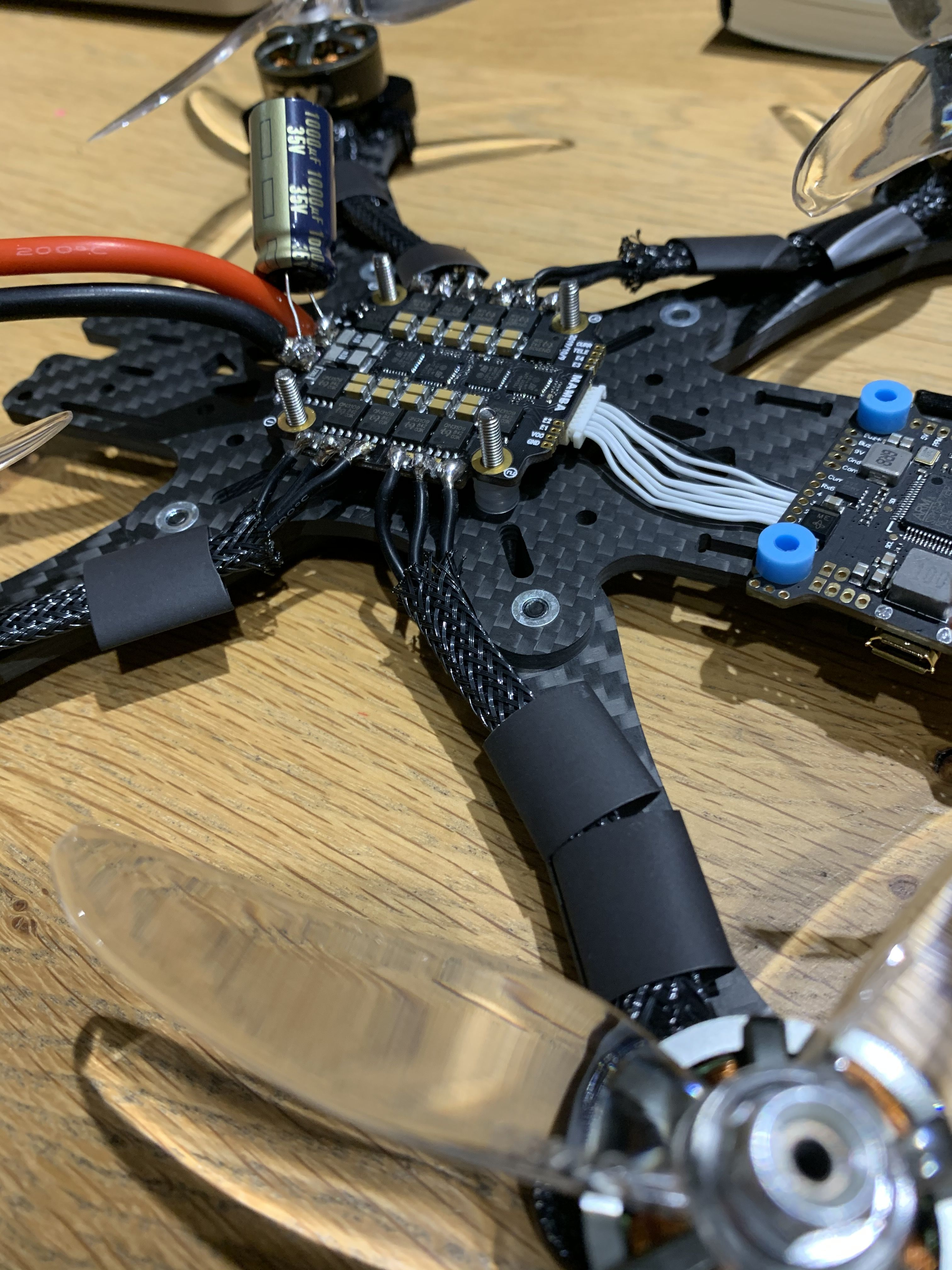 First Build - Tbs Source One - Mamba F722 - Spektrum
