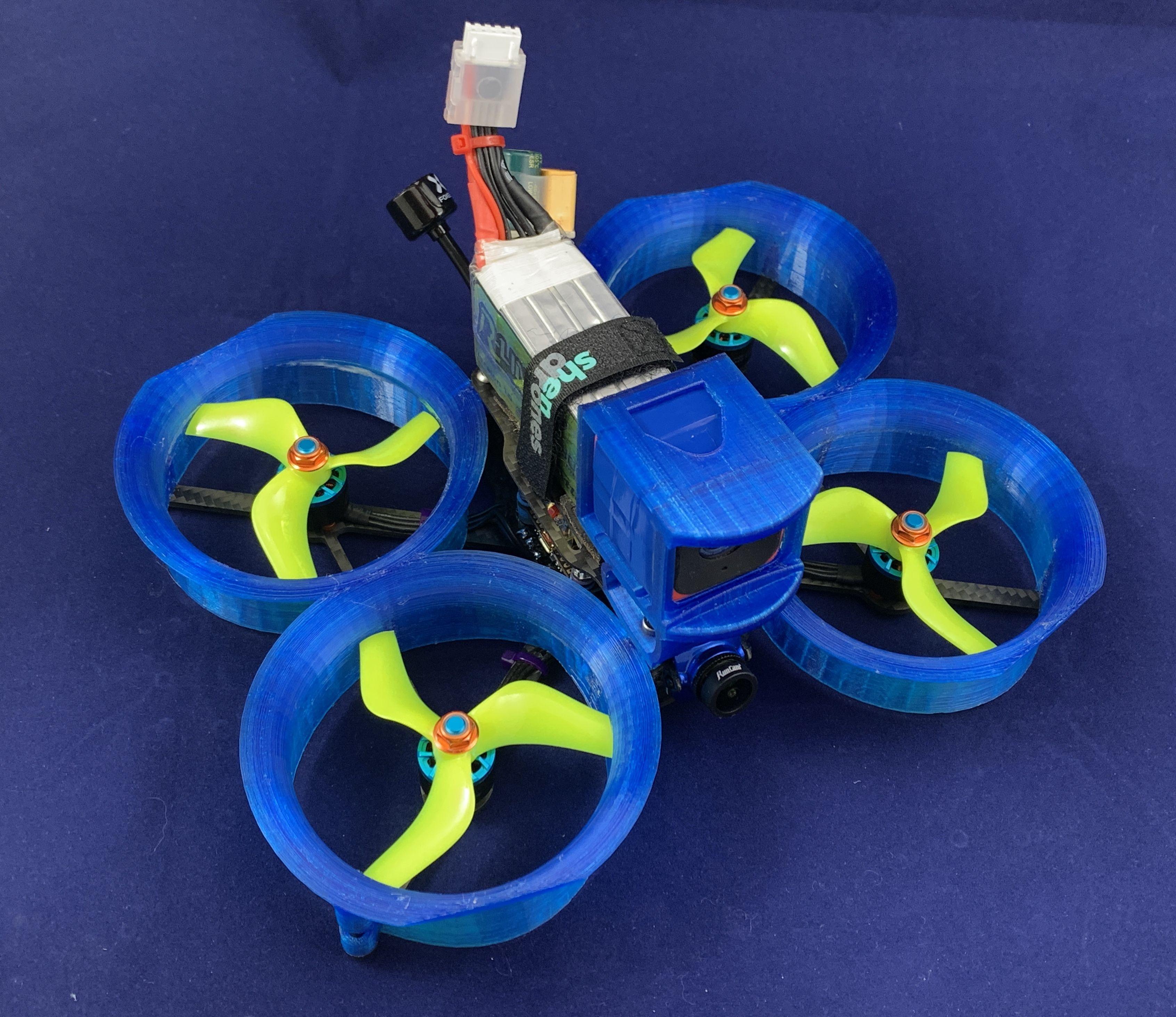 shendrones Squirt V2 GOPRO Session Mount Fpv Drone Tpu Runcam Case Qav Hero 3d