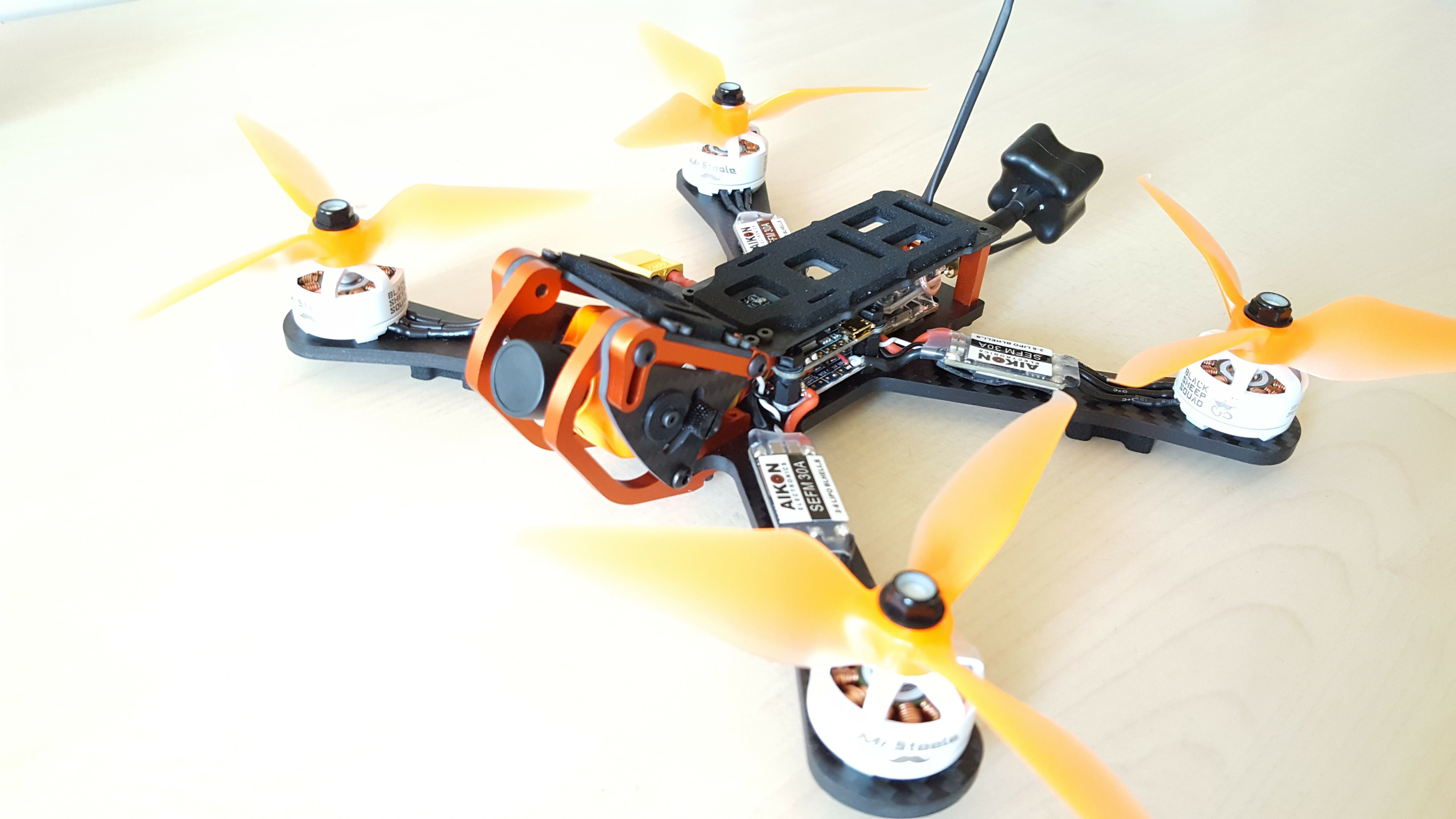 4 rotor drone with 3004 on What Are The Physical Aerodynamic Implications Of Designing A Prop Guard For Mul as well Tarot X4 Quadcopter Frame Set in addition Dys F4 Fc F30a F20a 4in1 Esc F4 Omnibus moreover Mini Drones besides Frame Kits c 267.